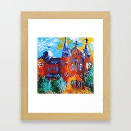 Sacred Heart Augusta Framed Art Print