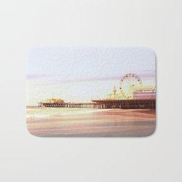 Santa Monica Pier Sunrise Bath Mat