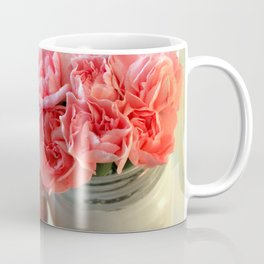 A Cup of Pink Carnations Coffee Mug