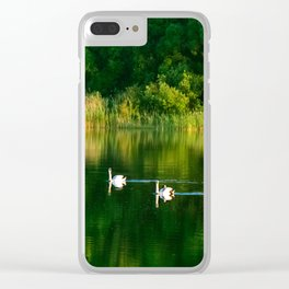 Family picnic Clear iPhone Case