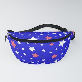 4th of July Stars Fanny Pack