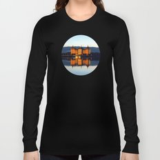 Fairy tale Castle - Moritzburg blue hour Long Sleeve T-shirt