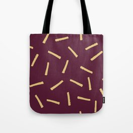 Burgundy Gold Pattern, Modern home decor - Printable gift, Rustic home decor Tote Bag