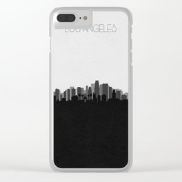 City Skylines: Los Angeles (Alternative) Clear iPhone Case