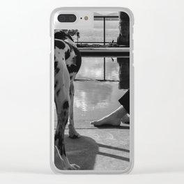 """Ruff"" Week Clear iPhone Case"