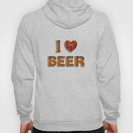 I Love Beer Hoody