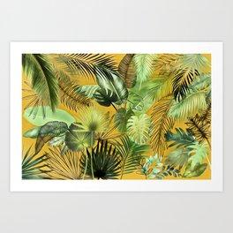 Tropical Foliage 06 Art Print