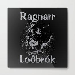 Ragnarr Loðbrók Metal Print