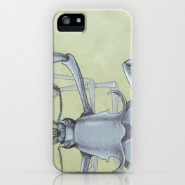 Beetle Blue iPhone Case
