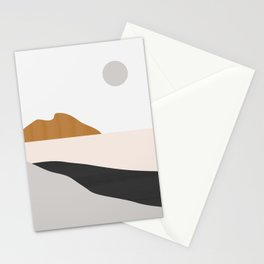 Minimal Art Landscape 3 Stationery Cards