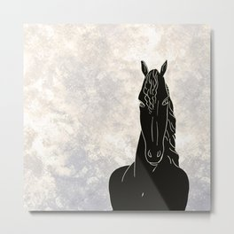 Homage to horse version II Metal Print