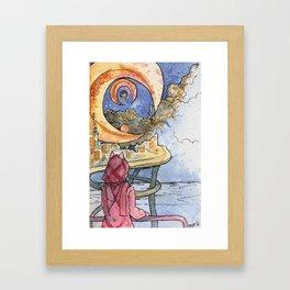 MoonFoxSea Framed Art Print