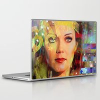 wonder Laptop & iPad Skins featuring Wonder by Ganech joe