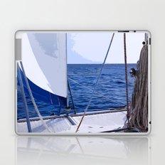 Sailing Winds - Sailing the Caribbean Laptop & iPad Skin