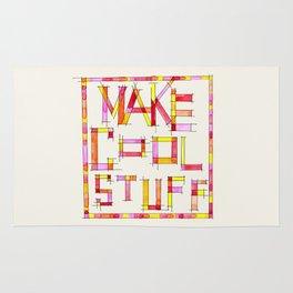 Make Cool Stuff Rug