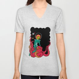 Space Voyagers Unisex V-Neck