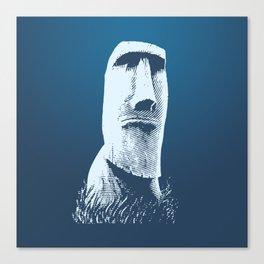 Moai #1 Canvas Print