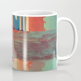 Pixel Sorting 69 Coffee Mug