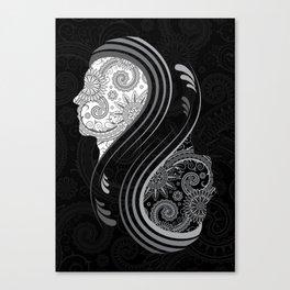 B&W Infinity Canvas Print