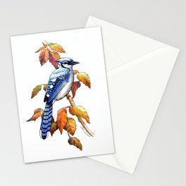 Bluebird in Autumn Stationery Cards