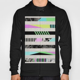 Crazy Lines - Pop Art, Geometric, Abstract Style Hoody