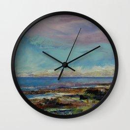California Seascape Wall Clock