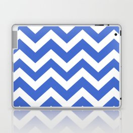 Han blue - blue color - Zigzag Chevron Pattern Laptop & iPad Skin