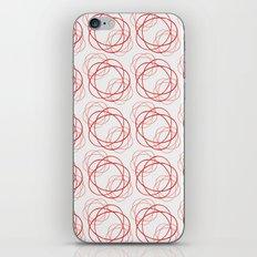 Spirograph Roses iPhone & iPod Skin