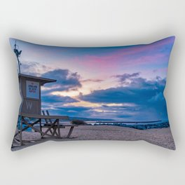 Wedge Tower at Sunrise Rectangular Pillow