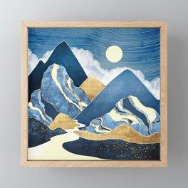 Moon River Framed Mini Art Print