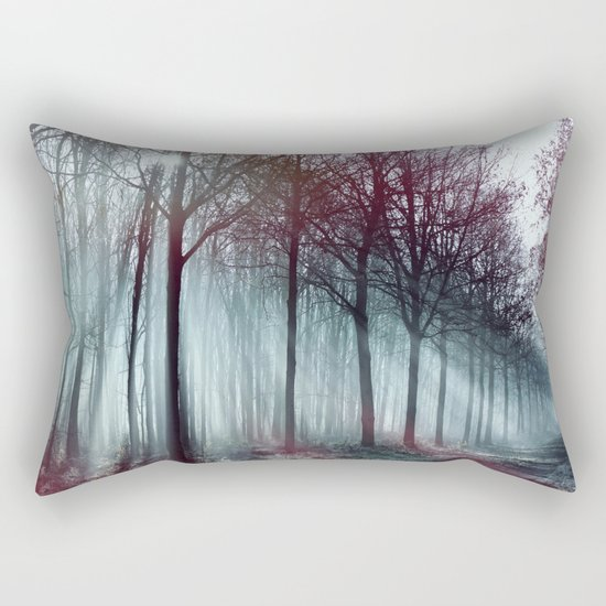 Mysterious Forest Rectangular Pillow