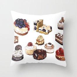 Cheesecake Throw Pillow
