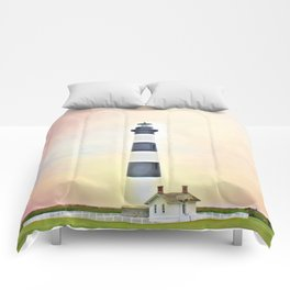 Bodie Lighthouse - Outer Banks Comforters