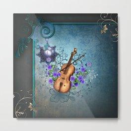 Wonderful violin Metal Print