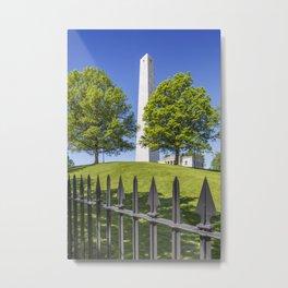 BOSTON Bunker Hill Monument Metal Print