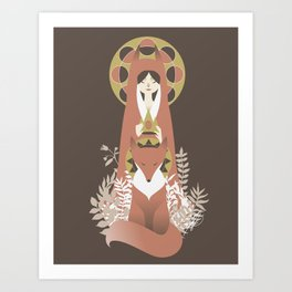 The Crowning of the Fox Prince Art Print