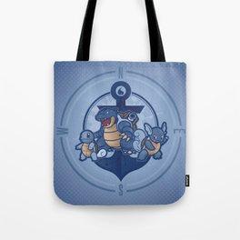 Team Blastoise Tote Bag