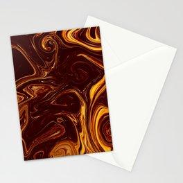 Liquid art Stationery Cards