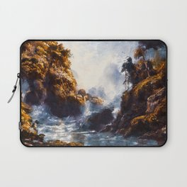 Red Beryl at the Gordon River in Tasmania Laptop Sleeve