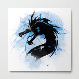 Dragon of ice Metal Print
