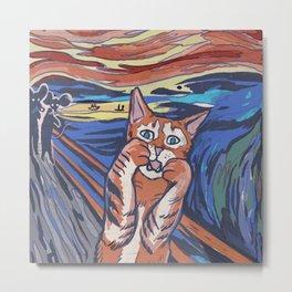 The Meow Metal Print