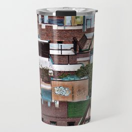 Roofs of Inwood Travel Mug