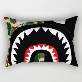 Bape camo shark Rectangular Pillow