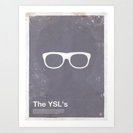 Framework - The YSL's Art Print