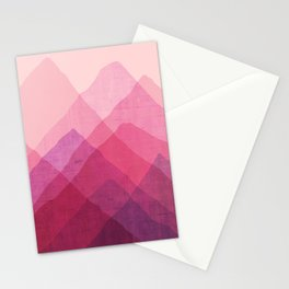 Abstraction_MOUNTAINS Stationery Cards