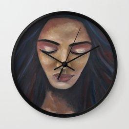 On My Mind by Lu Wall Clock