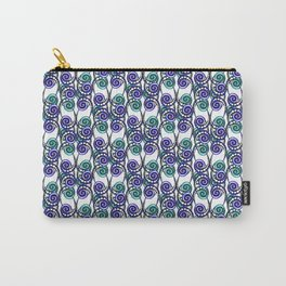 Swirly Pattern Carry-All Pouch