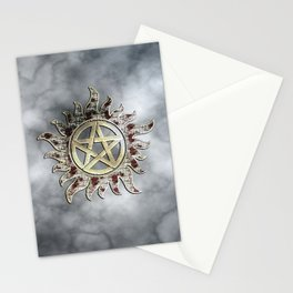 Smokey supernatural Stationery Cards