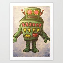 Robot Dream 2 Art Print