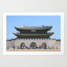 Gyeonbokgung Palace Seoul Art Print